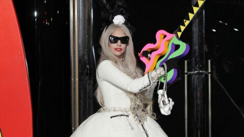 PHOTOS Lady Gaga inaugure son magasin de Noël à New York