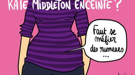 Louison a croqué… Kate Middleton et la rumeur de grossesse