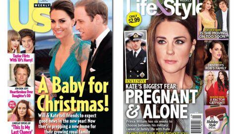 En direct des US: Kristen Stewart et Kate Middleton enceintes?