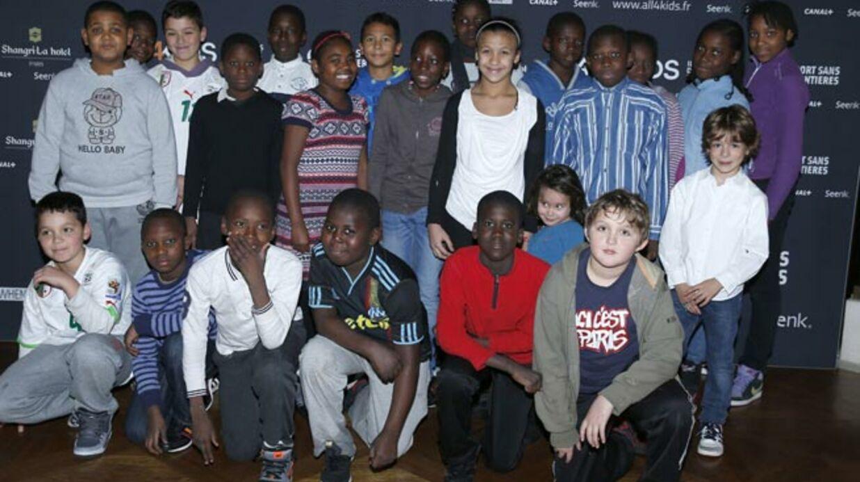 Pierre Ménès et des champions se mobilisent au service de l'enfance