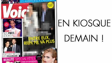 Cette semaine dans Voici: un couple de stars françaises au bord de la rupture!