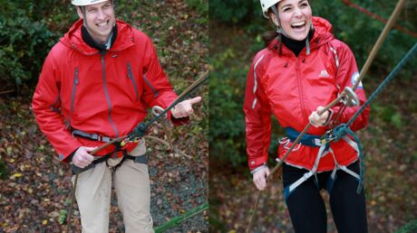 PHOTOS Kate Middleton et le prince William s'amusent en faisant de l'escalade