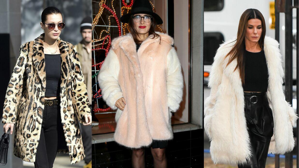 MODE Notre sélection de vestes en fausse fourrure pour cet hiver