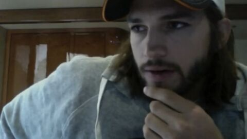 VIDEO Quand Ashton Kutcher se sent philosophe