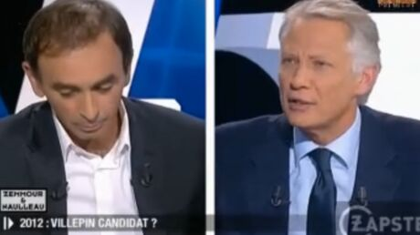 VIDEO Dominique de Villepin assimile Zemmour au « beauf de service »