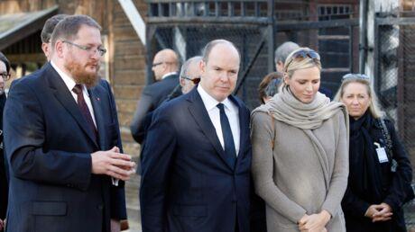 DIAPO Albert II et Charlène de Monaco en visite officielle à Auschwitz