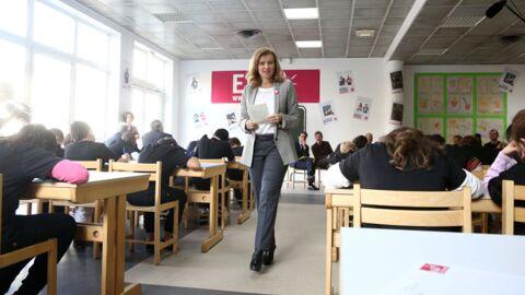 DIAPO Valérie Trierweiler en maîtresse (d'école)