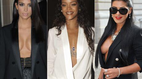DIAPO Ayem, Kim Kardashian, Olivia Wilde… Rien sous la veste pour être sexy