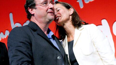 François Hollande et Ségolène Royal se serrent la main en public mais s'embrassent en privé
