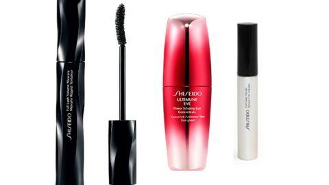 Objectif beauté du regard avec Shiseido