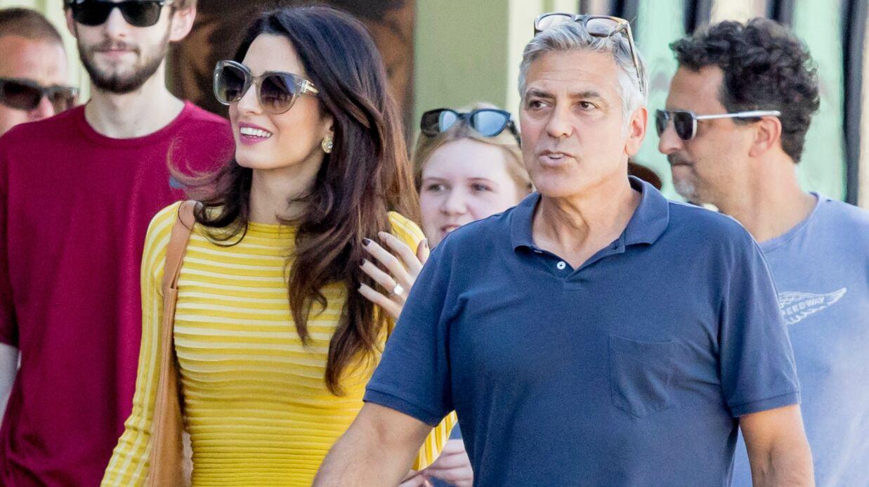 PHOTOS Les tendres retrouvailles d'Amal et George Clooney à Los Angeles