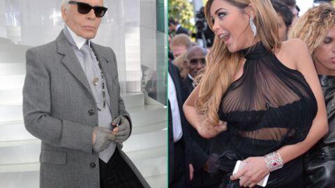 Humiliée, Nabilla répond à la pique de Karl Lagerfeld