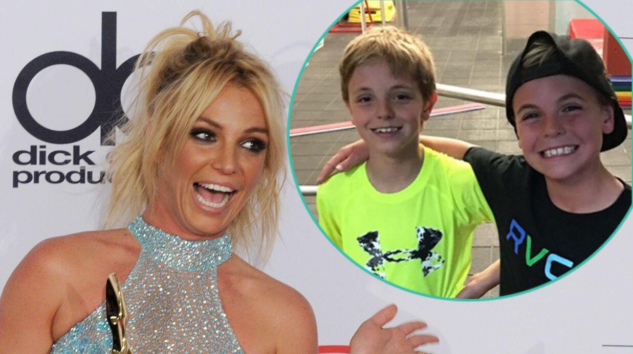 VIDEO Britney Spears piégée par ses fils qui lui font une grosse frayeur, c'est très drôle
