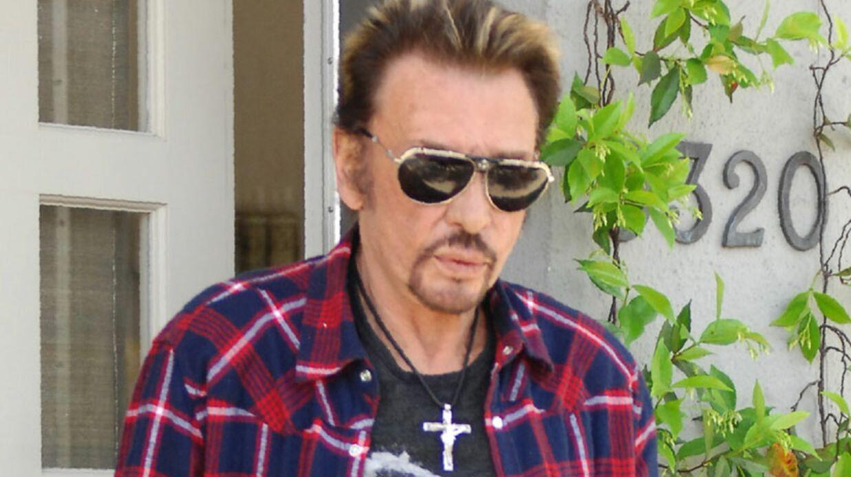 Johnny Hallyday au théâtre: sa peur du trou de mémoire