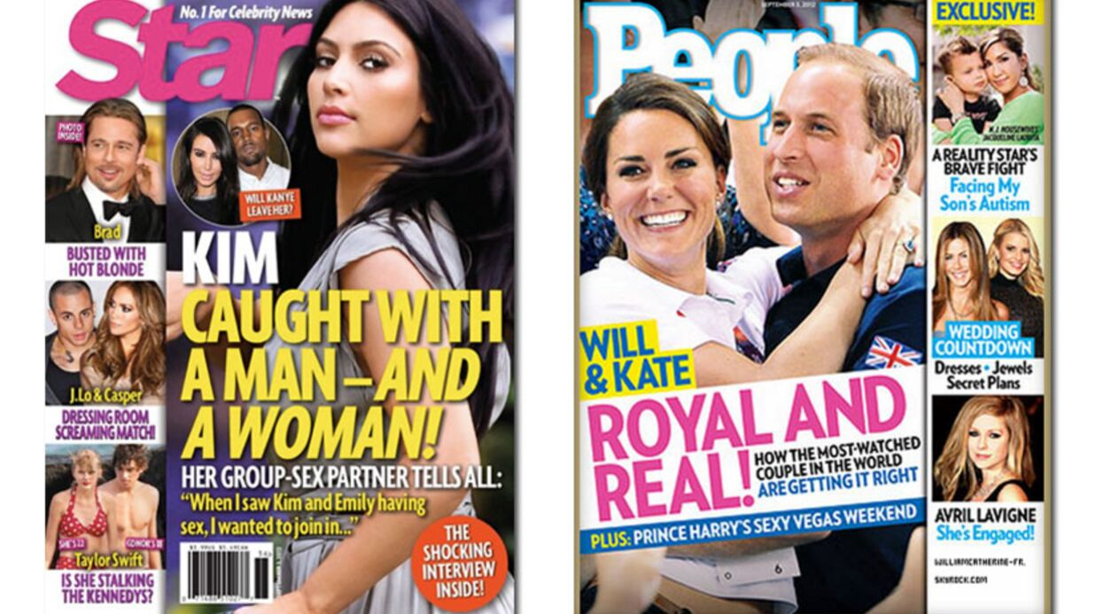 En direct des US: tout sur les plans à trois de Kim Kardashian