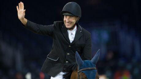 Nicolas Canteloup est arrivé deuxième aux championnats de France d'équitation
