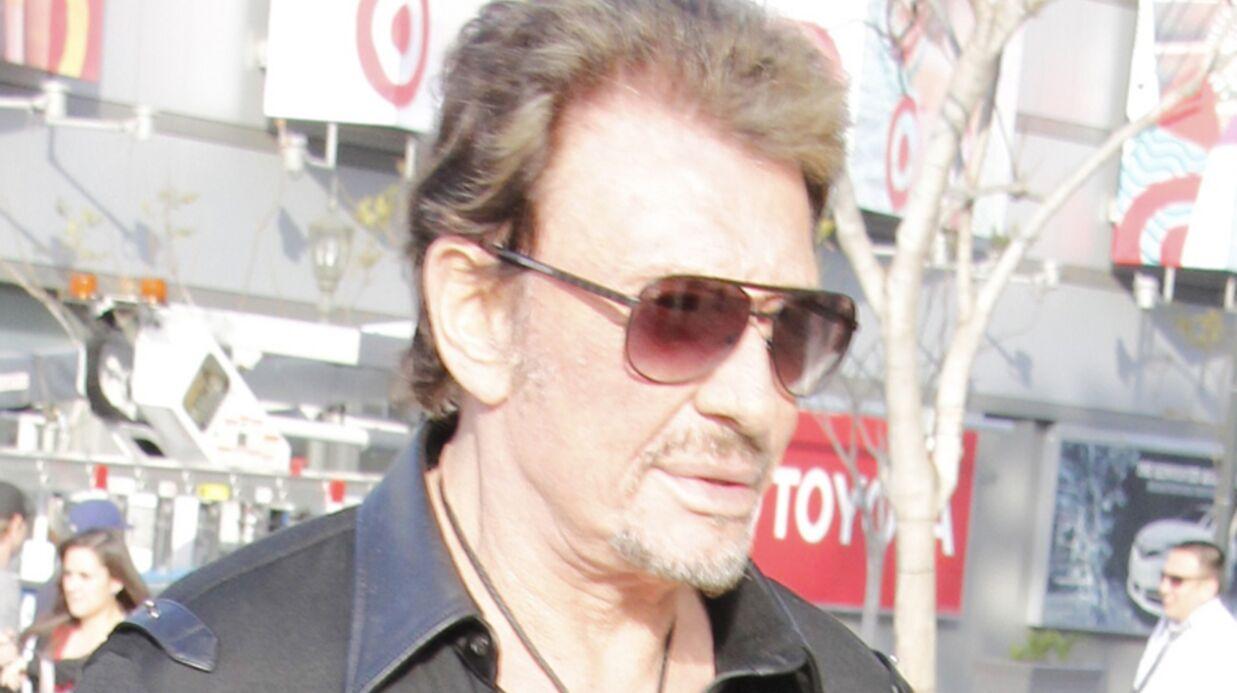 Johnny Hallyday avait perdu sa voix