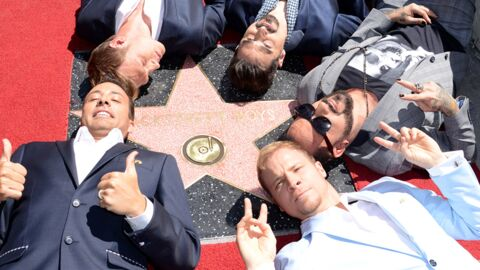 DIAPO Les Backstreet Boys inaugurent leur étoile à Hollywood