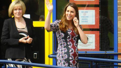 DIAPO Kate Middleton rend visite à des enfants défavorisés