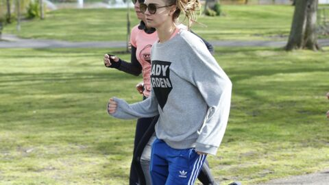 Cara Delevingne enfile son jogging pour la bonne cause!