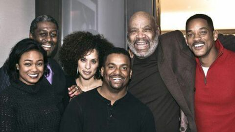 PHOTO Will Smith retrouve ses partenaires du Prince de Bel Air