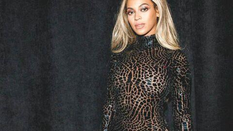 PHOTOS Beyoncé ose la robe mosaïque moulante