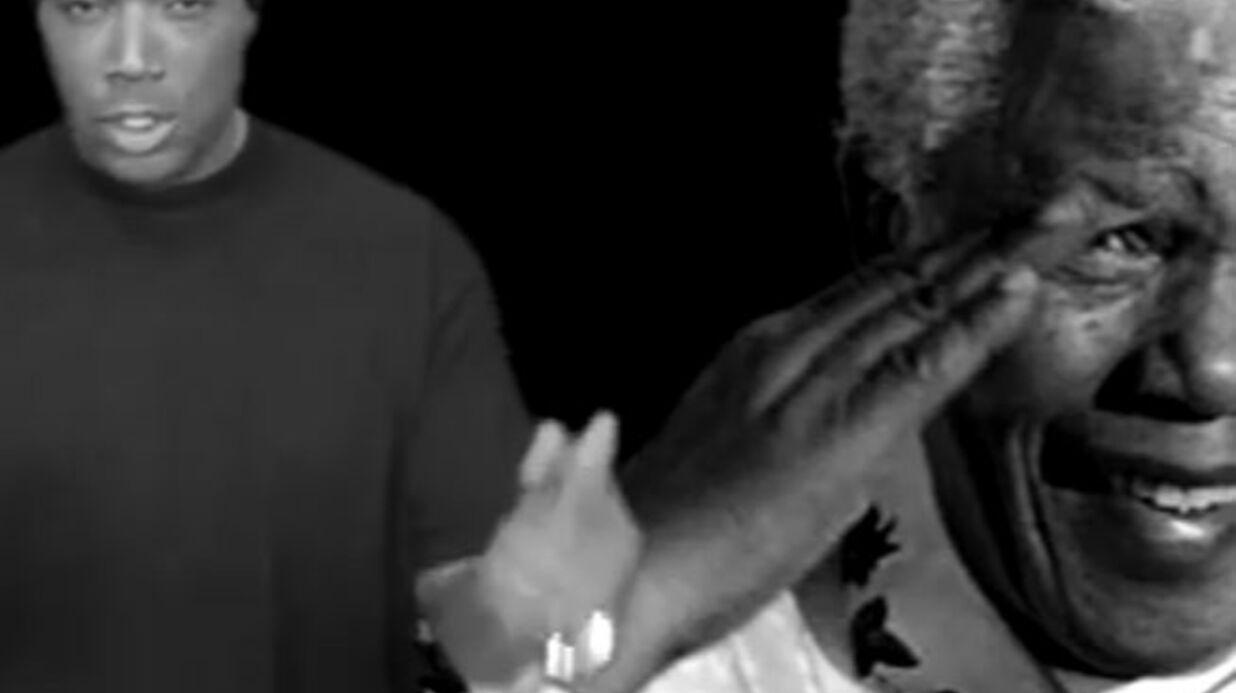 VIDEO Myriam Abel et Lord Kossity: leur chanson hommage à Mandela (si! si!)