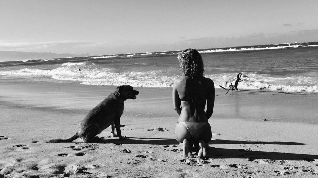 PHOTOS Tal sexy en bikini, la chanteuse s'éclate à la plage avec sa cousine