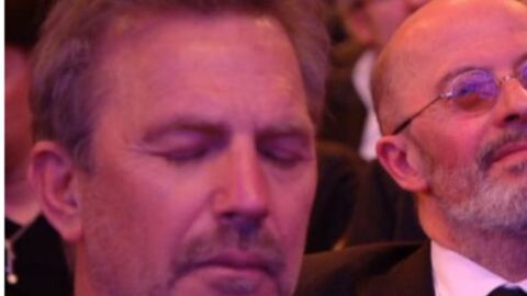Kevin Costner s'endort lors des Césars
