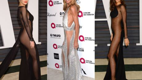 PHOTOS Rita Ora, Irina Shayk et Heidi Klum à moitié nues aux after party des Oscars
