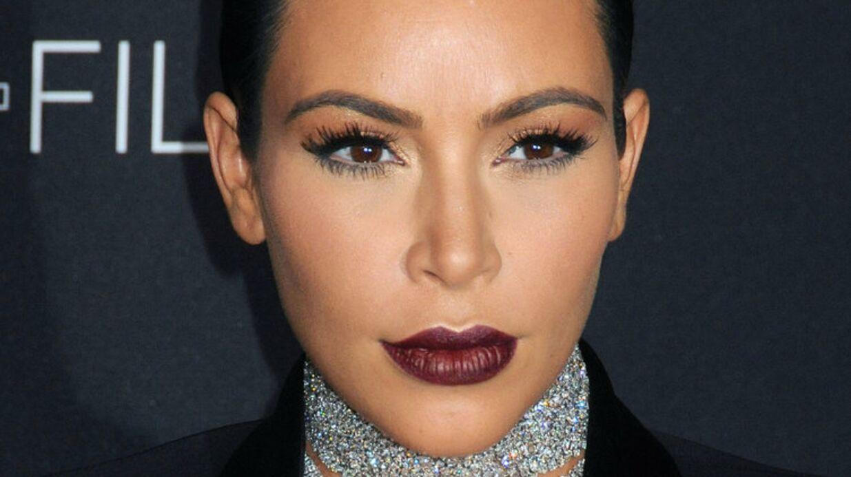 PHOTO Kim Kardashian dévoile le visage de son fils, Saint West