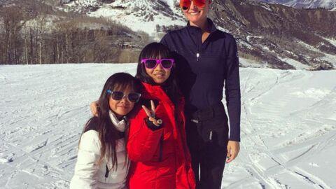 PHOTOS Laeticia Hallyday: ses vacances de rêves avec ses filles à Aspen