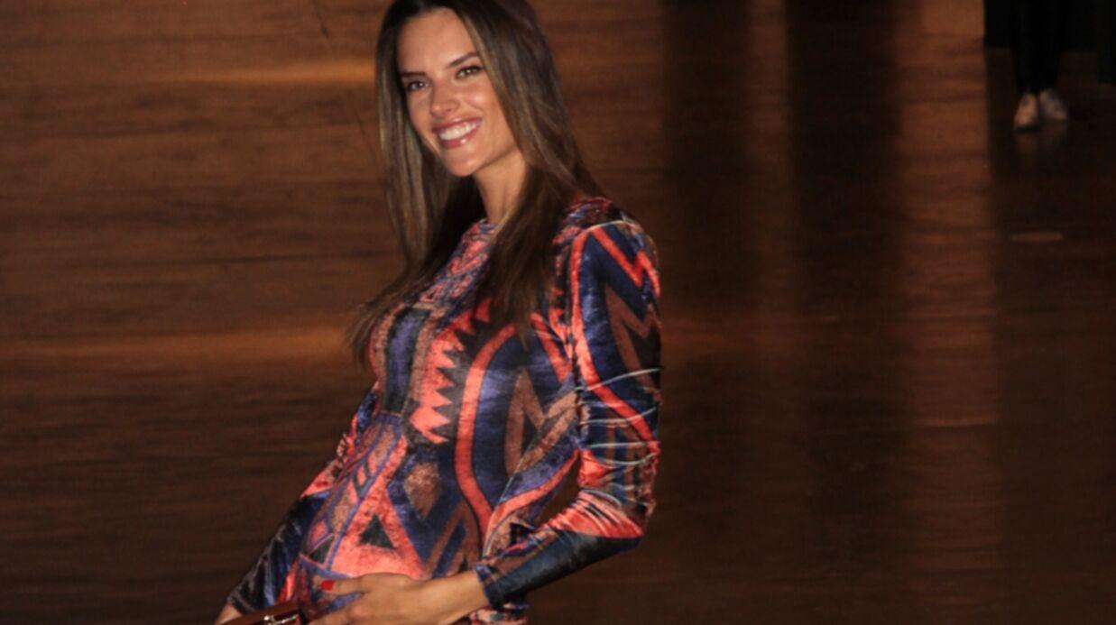 PHOTOS Alessandra Ambrosio défile enceinte