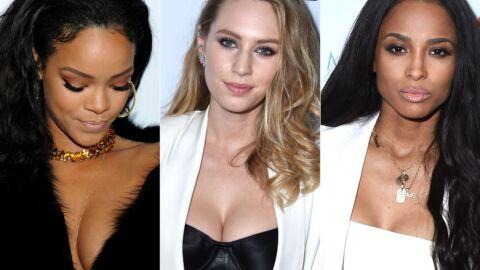 PHOTOS Rihanna, Dylan Penn et Ciara décolletées aux Fashion Awards