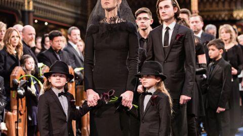 PHOTOS Obsèques de René Angélil: les adieux poignants de Céline Dion et ses enfants