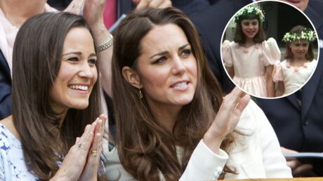 VIDEO Kate et Pippa Middleton: des images inédites d'elles enfants dévoilées