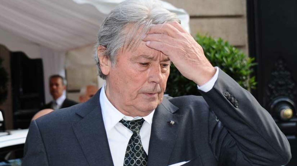 Alain Delon condamné en appel pour contrefaçon