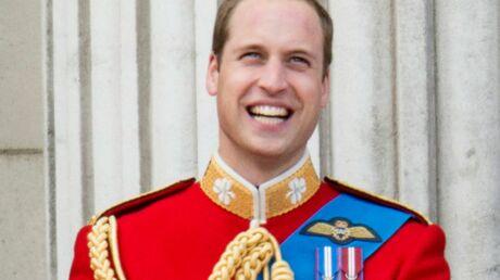 Le prince William, fou de joie, réagit à la naissance de son fils