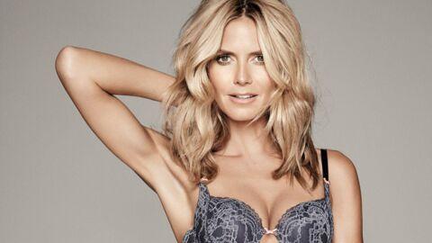 VIDEO Heidi Klum mannequin de charme pour sa marque de  lingerie