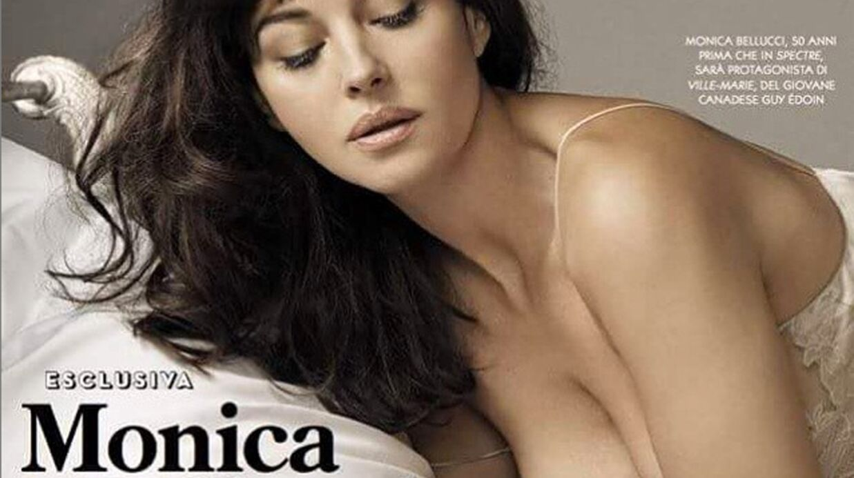 PHOTOS Monica Bellucci sexy en diable pour le GQ italien