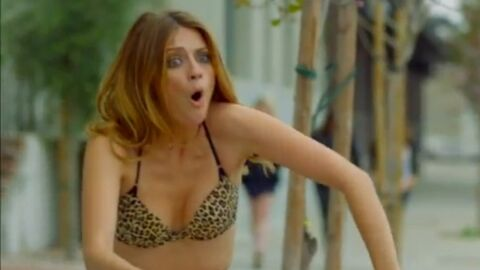 VIDEO Mischa Barton en sous-vêtements dans la rue pour Noel Gallagher