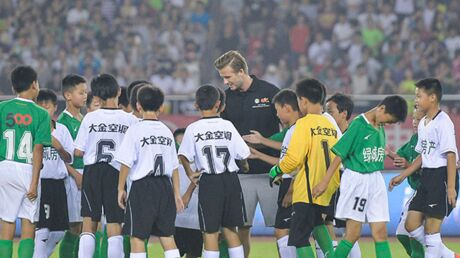DIAPO David Beckham sort de sa retraite en Chine