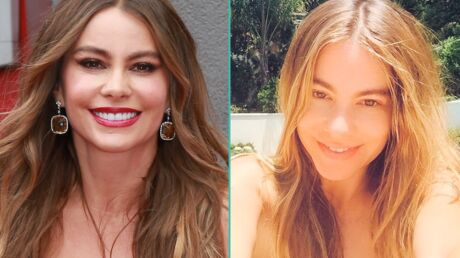 PHOTO Sofia Vergara sans maquillage : elle rajeunit de 20 ans