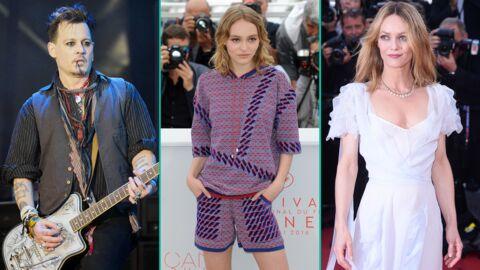 Johnny Depp: sa fille Lily-Rose l'a rejoint aux Bahamas, Vanessa Paradis suivra dans quelques jours