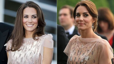 PHOTOS Cinq ans plus tard, Kate Middleton ressort sa sublime robe à 4 000 euros