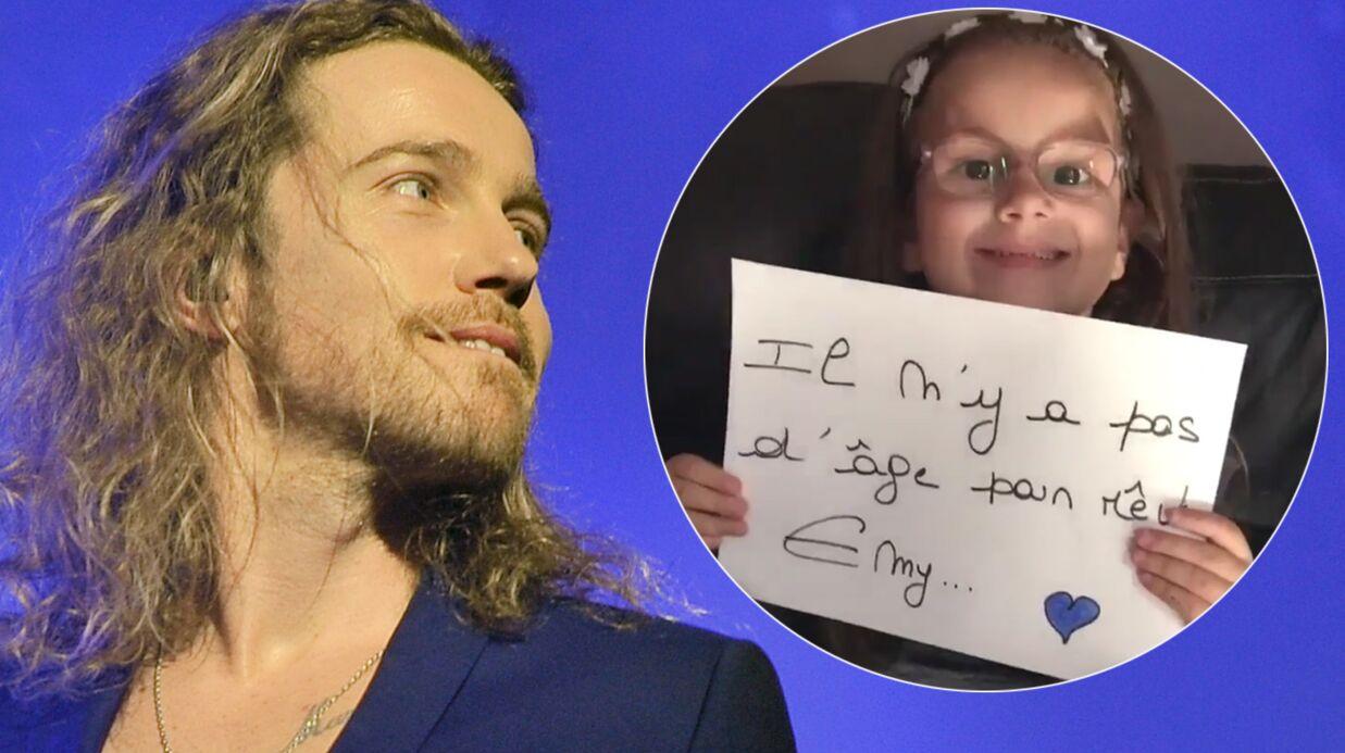 VIDEO Julien Doré fait une promesse trop mignonne à une fan de 6 ans