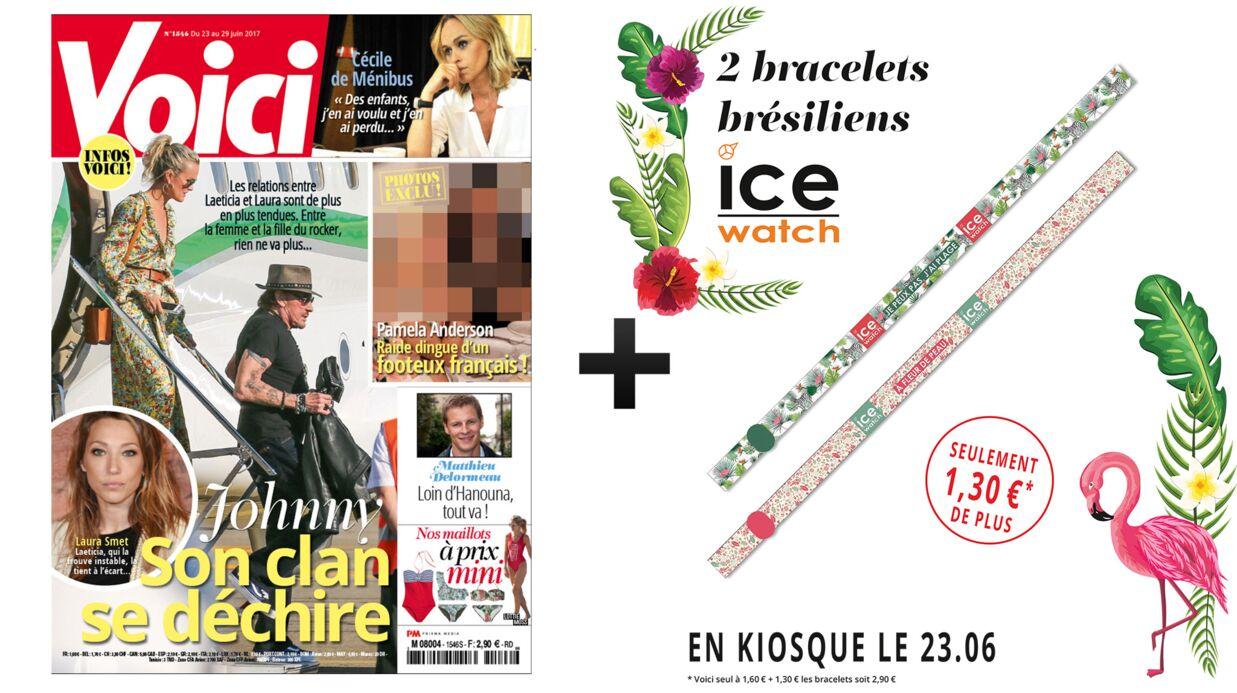 Cette semaine, achetez Voici avec deux bracelets brésiliens Ice Watch pour 2,90€ seulement