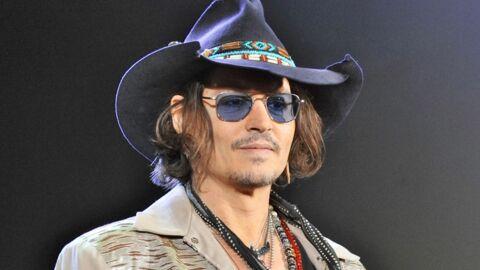 Johnny Depp nouveau membre de la tribu des Indiens Comanches