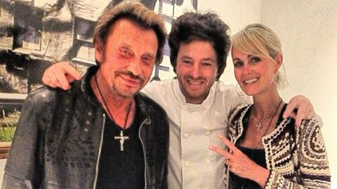 PHOTOS Johnny Hallyday se régale chez Jean Imbert (Top Chef)