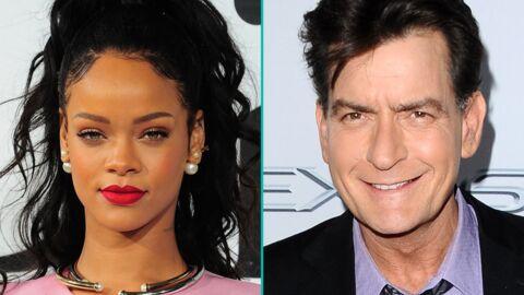 Rihanna et Charlie Sheen: clash et insultes sur Twitter